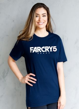 T-shirt Feminina Far Cry 5 Logo