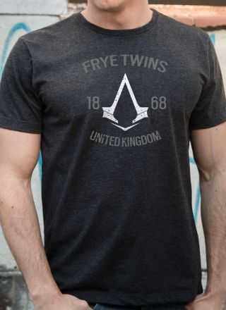T-shirt Premium Masculina Assassin's Creed Crest Frye