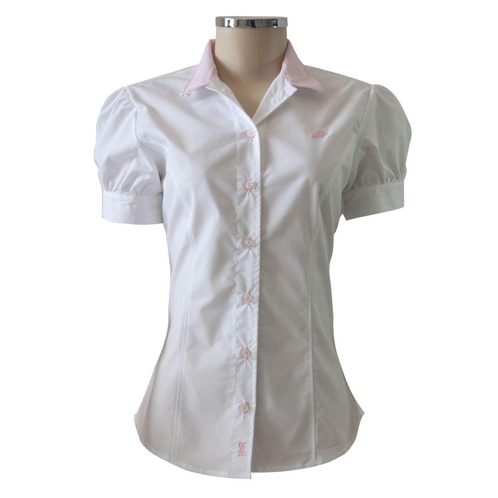 Camisa Feminina Mirella Manga Curta