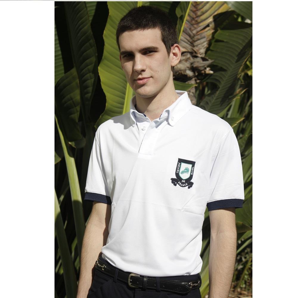 Camisa Polo Masculina Manga Curta