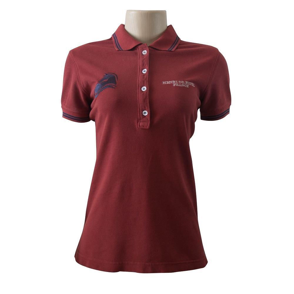 Camisa Polo Piquet Feminina Horse
