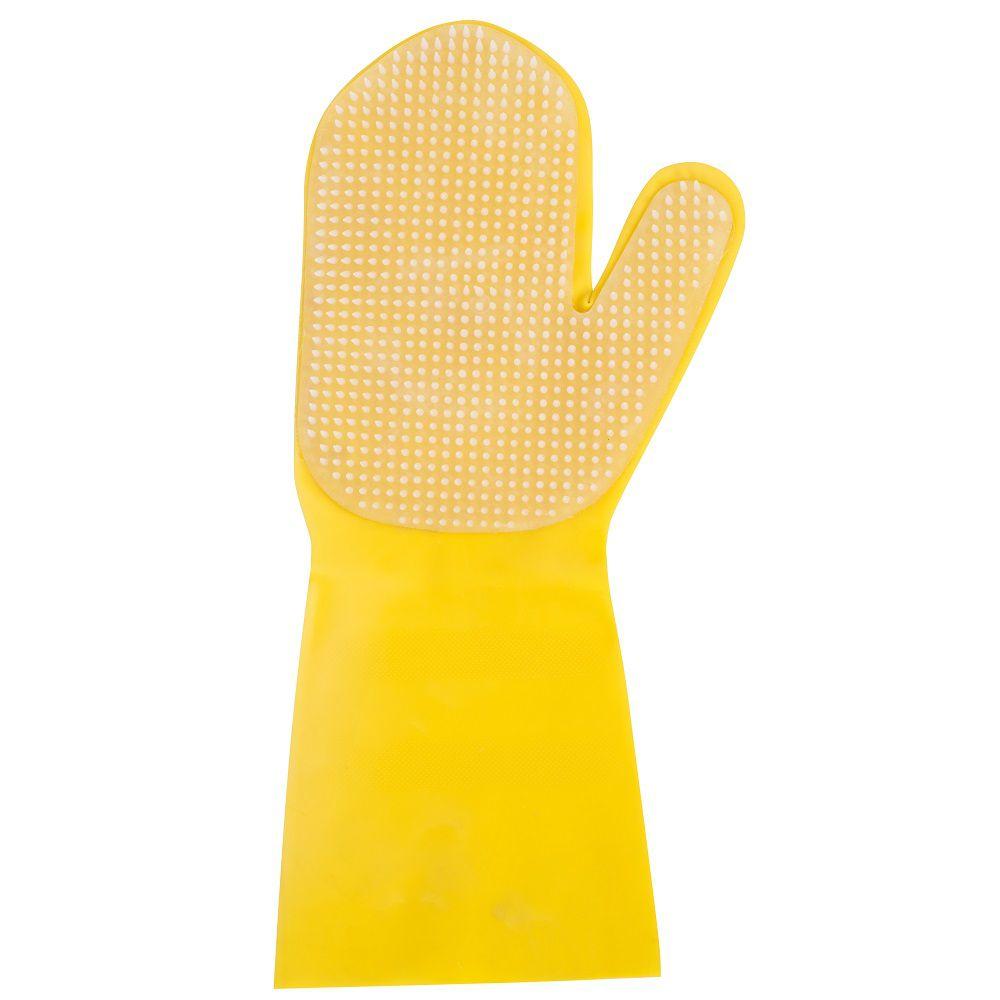 Luva Latex Amarelo