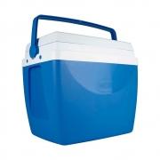 Caixa Térmica 34 Litros Azul e Branco 25108161 Mor