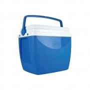 Caixa Térmica 18 Litros Azul e Branco 25108181 Mor