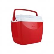 Caixa Térmica 18 Litros Vermelho e Branco 25108182 Mor