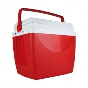 Caixa Térmica 34 Litros Vermelho e Branco 25108162 Mor