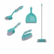 Conjunto Para Limpeza Multiuso Com 5 Peças Flash Limp