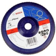 Disco Flap Para Metal 180Mm 60 Reto Plastic Bosch