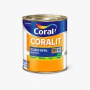 Esmalte Coralit Secagem Rápida Brilhante Branco 900ml Coral