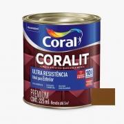 Esmalte Coralit Ultra Resistência Alto Brilho Marrom Conhaque 900ml Coral