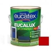 Esmalte Seca Rápido Brilhante Premium Vermelho 225ml Eucatex
