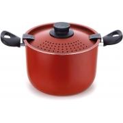 Espagueteira Colapasta 22Cm Vermelho Multiflon