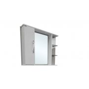 Espelheira Montreal 80x65,5cm Branco Corso