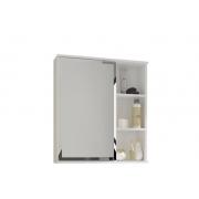 Espelheira Para Banheiro Treviso 56cm Branca Mgm