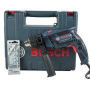Furadeira De Impacto Gsb 13 Re + Kit C/5 Bits Bosch