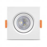 Luminária EcoSpot LED Quadrada MR16 5W Elgin