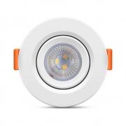 Luminária EcoSpot LED Redonda MR11 3W 6500K Elgin