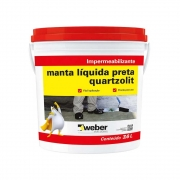 Manta Líquida 3,6kg Preto Quartzolit