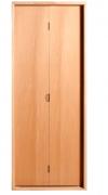 Porta De Madeira Camarão Imbuía 210X62cm  Batente 14 Esquerdo Uniportas