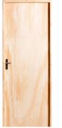 Porta De Madeira Lisa Amescla 210X72cm Batente 9 Direito Uniportas