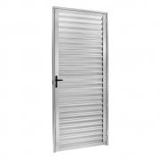 Porta Palheta Ecosul Em Alumínio Brilhante 210X80 Esquerdo Esquadrisul
