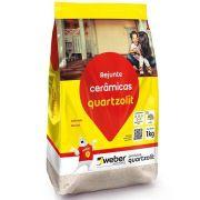Rejunte Flex 1Kg Branco Quartzolit