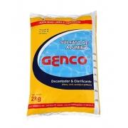 Sulfato de Alumínio 2Kg Genco