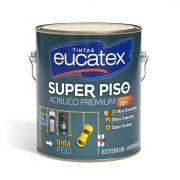 Tinta Super Piso Acrílico Premium Branca 3,6 Litros Eucatex