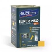 Tinta Super Piso Acrílico Premium Amarelo Demarcação 18 Litros Eucatex