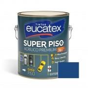 Tinta Super Piso Acrílico Premium Azul 3,6 Litros Eucatex