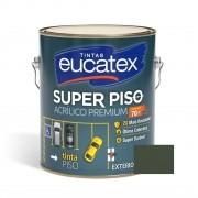 Tinta Super Piso Acrílico Premium Cinza Escuro 3,6 Litros Eucatex