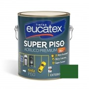 Tinta Super Piso Acrílico Premium Verde 3,6 Litros Eucatex