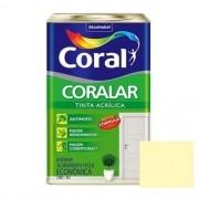 Tinta Coralar Acrílico Fosco Vanilla 18 Litros Coral