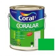 Tinta Coralar Acrílico Fosco Verde Timbalada 3,6 Litros Coral