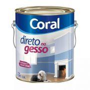 Tinta P/Gesso Galão 3,6 Litros Coral