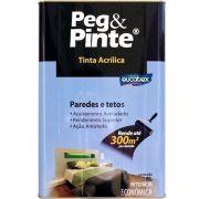 Tinta Peg&Pinte Acrilica Amarelo Canario 18L Eucatex