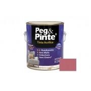 Tinta Peg&Pinte Acrílica Rosa Açai 3,6 Litros Eucatex