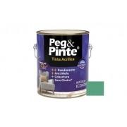 Tinta Peg&Pinte Acrílica Verde Olinda 3,6 Litros Eucatex
