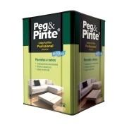Tinta Peg&Pinte Profissional Látex Acrílica Branco 18 Litros Eucatex