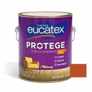 Tinta Protege Acrílico Fosco Premium Tomate Seco 3,6 Litros Eucatex