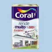 Tinta Rende Muito Acrilico Azul Sereno 18 Litros Coral