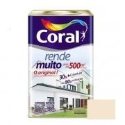 Tinta Rende Muito Acrílico Fosco Areia 18 Litros Coral