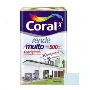 Tinta Rende Muito Acrílico Fosco Azul Sereno 18 Litros Coral