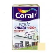 Tinta Rende Muito Acrílico Fosco Vanilla 18 Litros Coral