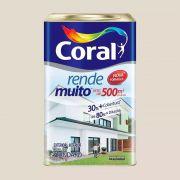 Tinta Rende Muito Acrilico Gelo 18Litros Coral