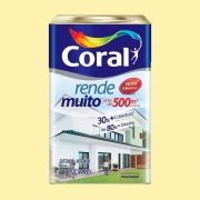 Tinta Rende Muito Acrilico Vanilla 18 Litros Coral