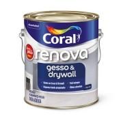 Tinta Renova Gesso & Drywall Branco 3,6 Litros Coral