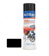 Tinta Spray Preto Fosco Alta Temperat Eucatex