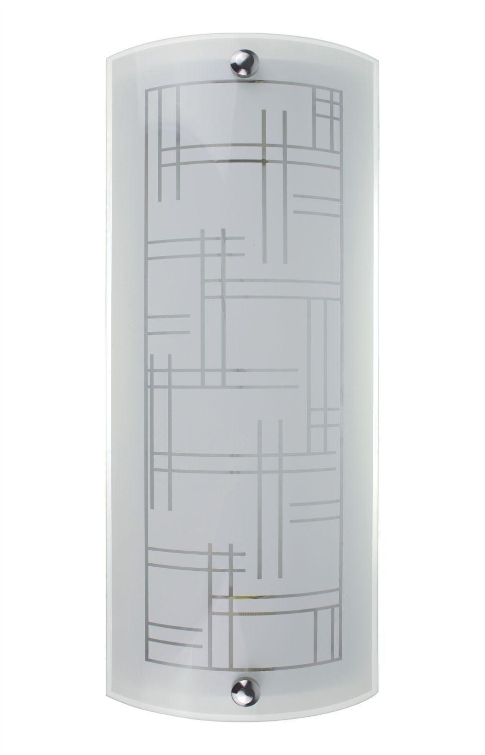 Arandela Rio Branco Fosco Cristal Ar3012/2 Nacional