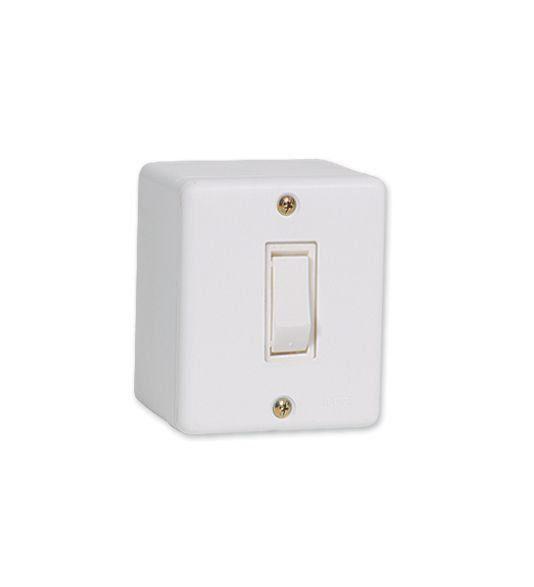 Conjunto De Sobrepor 1 Interruptor Paralelo 6322 Ilumi